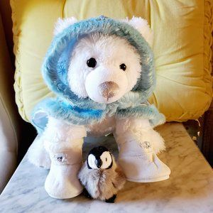 Build-A-Bear Winter Polar Bear Plush Only